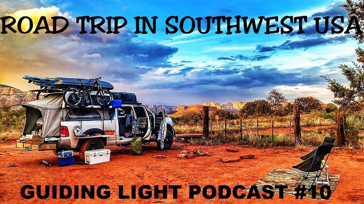Road Trip In southwest USA podcast