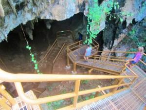 Gaspar Grande Cave enterance