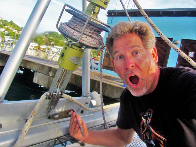 Sail to Grenada 1
