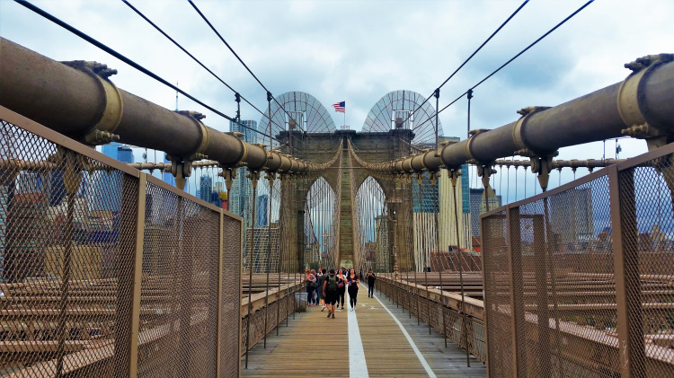 USA - New York - Brooklyn Bridge 1
