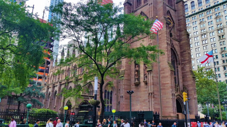 USA - New York - Trinity Church 1