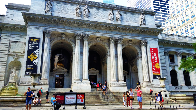 USA - New York - Public Library 1