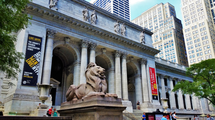 USA - New York - Public Library POTD