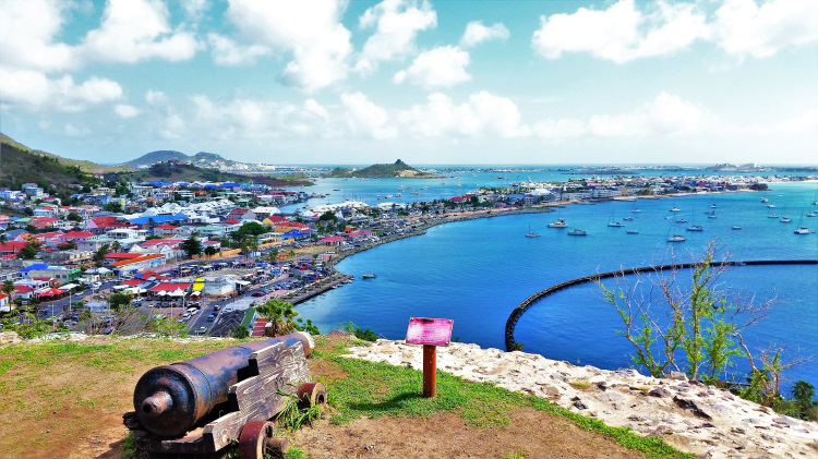 Marigot - Fort - View POTD