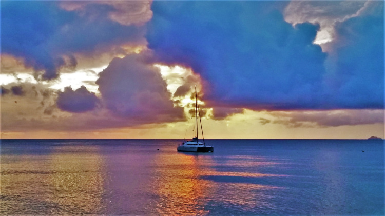 Mustique Sunset POTD
