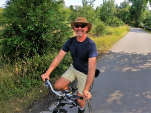 Biking the Curonian Spit