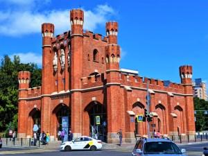 King's Gate in Kaliningrad