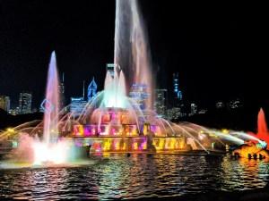 Grant Park - Buckingham Fountian