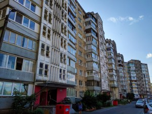 Soviet block housing