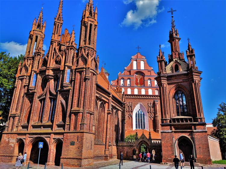 Lithuania - Vilnius - St Ann Church 1
