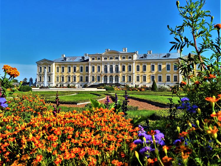 Latvia - Rundale Palace - Garden POTD