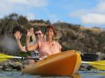 Joe & Shanna On The Kayak