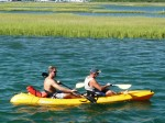 Steve & I In kayaking near Swansboro