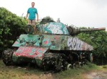 Watch out I have a tank