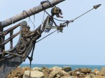Pirate's Of The Caribbean ship's figure head