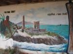 BVI - Virgin Gorda - Copper Mine Point - Mural