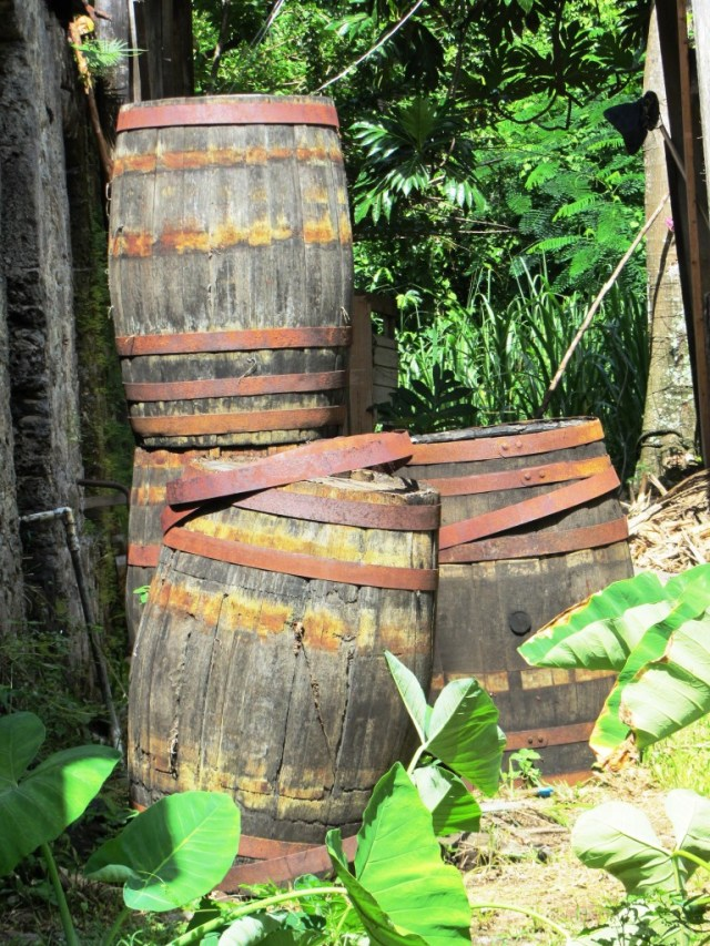 Cane Garden Bay Distillery - Barrels