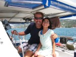 Sailing with one of my favorite people
