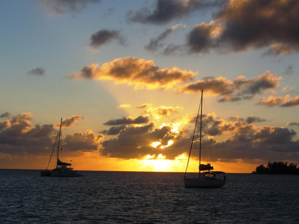 Sunset At Anegada