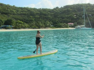 Kerry on the SUP