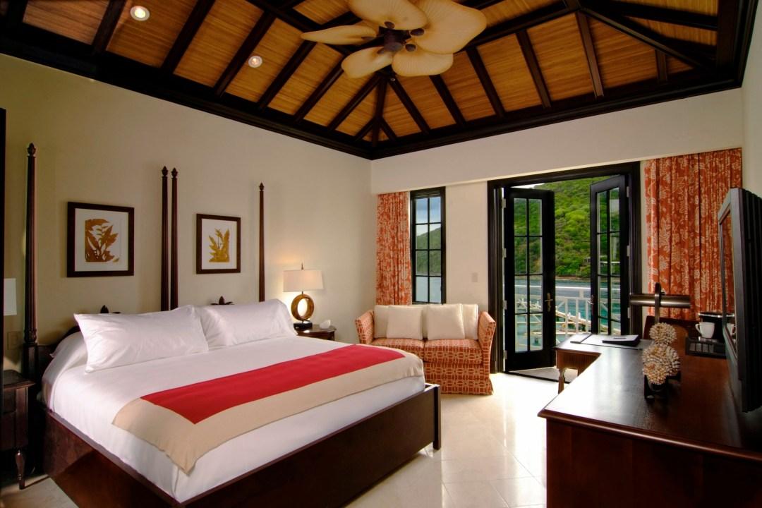 Caribbean, British Virgin Islands, Scrub Island,  Guest Bedroom