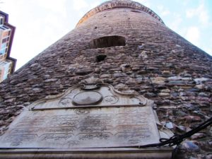 Turkey - Istanbul - Galata Tower - Looking Up