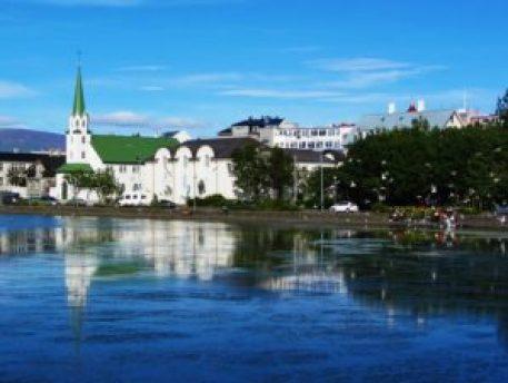 Iceland - 1 Reykjavik - View From Lake