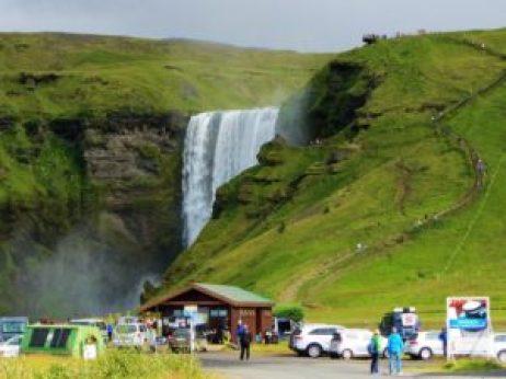 Iceland - 3 Skogafoss - From Side