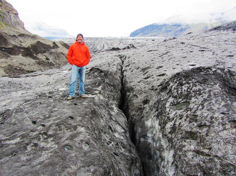 Iceland - 4 Vatnajokull - Me On Glacier