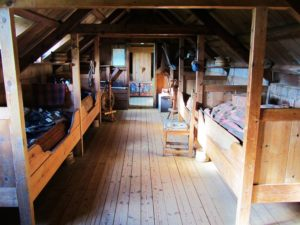 Iceland - 6 Glaumbaer Turf House - Interior - Badstofa