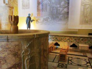 Israel - Akko - Turkish Bath - Lobby