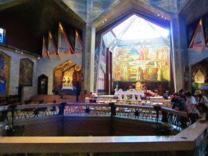 Israel - Nazareth - Basilica of Annunciation - Upper Level