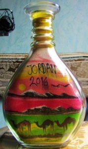Jordan sand art