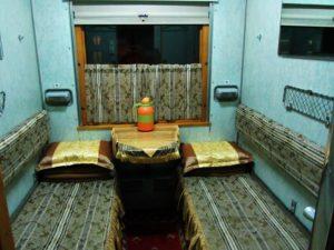 Trans Siberian cabin