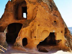 turkey-cappadocia-selime-monastery-building
