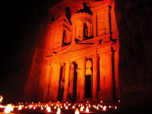 Jordan Travel Guide - Petra At Night