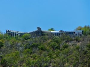Rockefeller house at Colombier in St Barts
