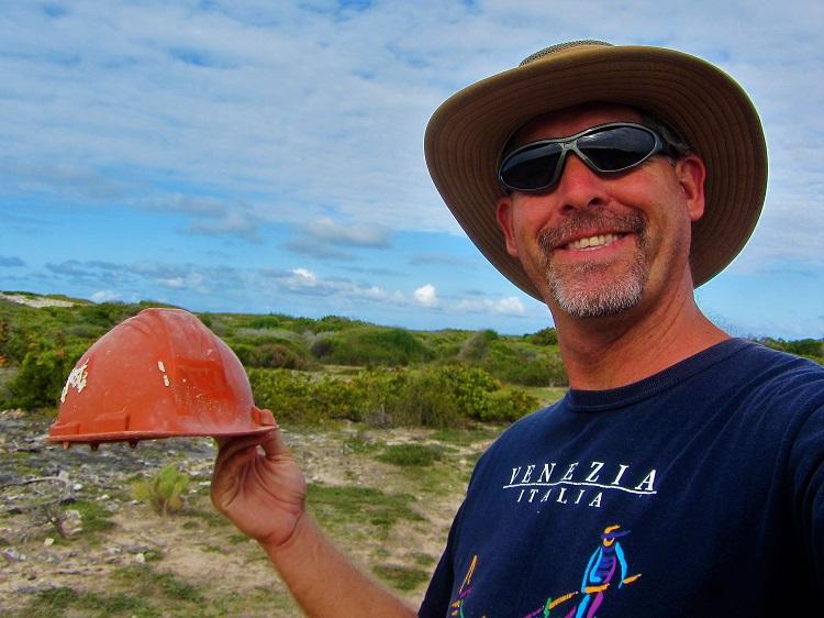 Hiking around Gravenor Bay Barbuda