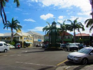 Circle in Basseterre, St Kitts