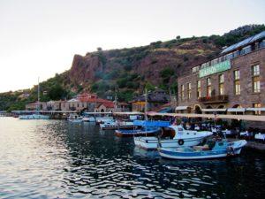 Assos harbor