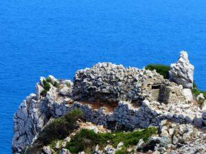 A hidden WW2 pillbox on Gibraltar