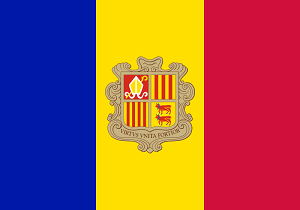 Andorra travel guide flag