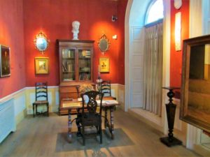 Inside the Picasso house