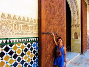 Door at Alhambra
