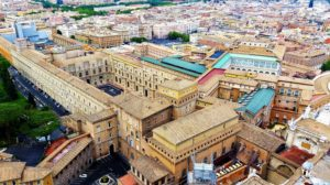 Vatican palace, museum, and Sistine Chapel