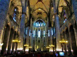 Spain - Barcelona - Basilica of Santa Maria del Mar 2