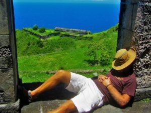 St Kitts & Nevis travel guide - Brimstone Hill