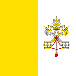 Vatican City travel guide flag