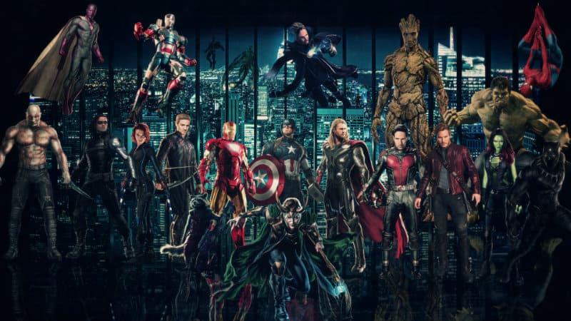 Marvel filmski svemir – kronološki