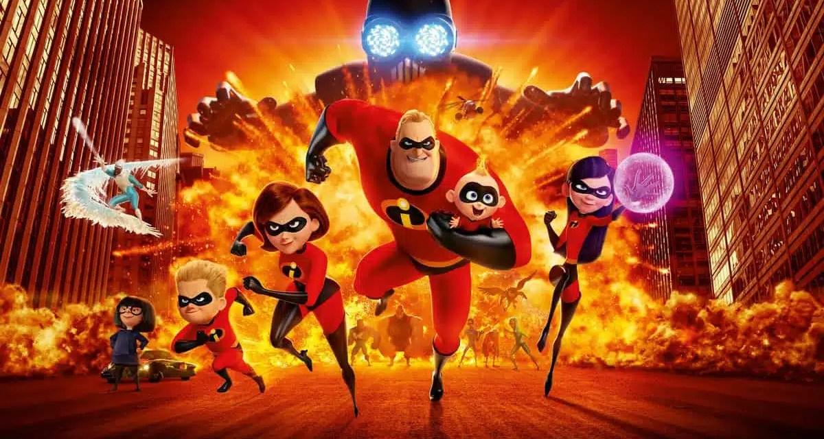 Recenzija: Incredibles 2 (2018)